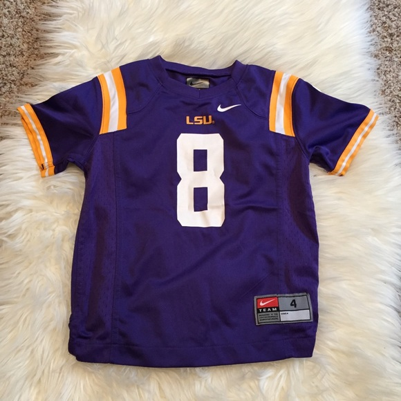 designer fashion 50a43 53377 toddler-lsu-jersey